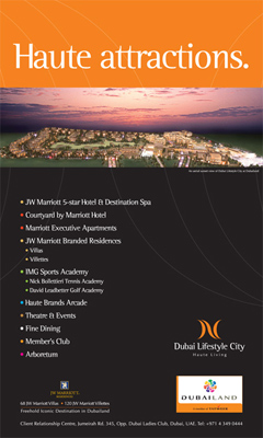 Dubai Lifestyle City Creative